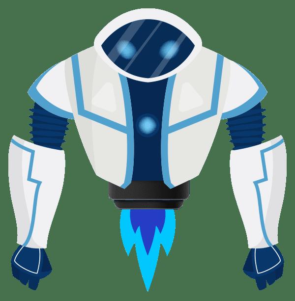 secure agent marketing samson robot character