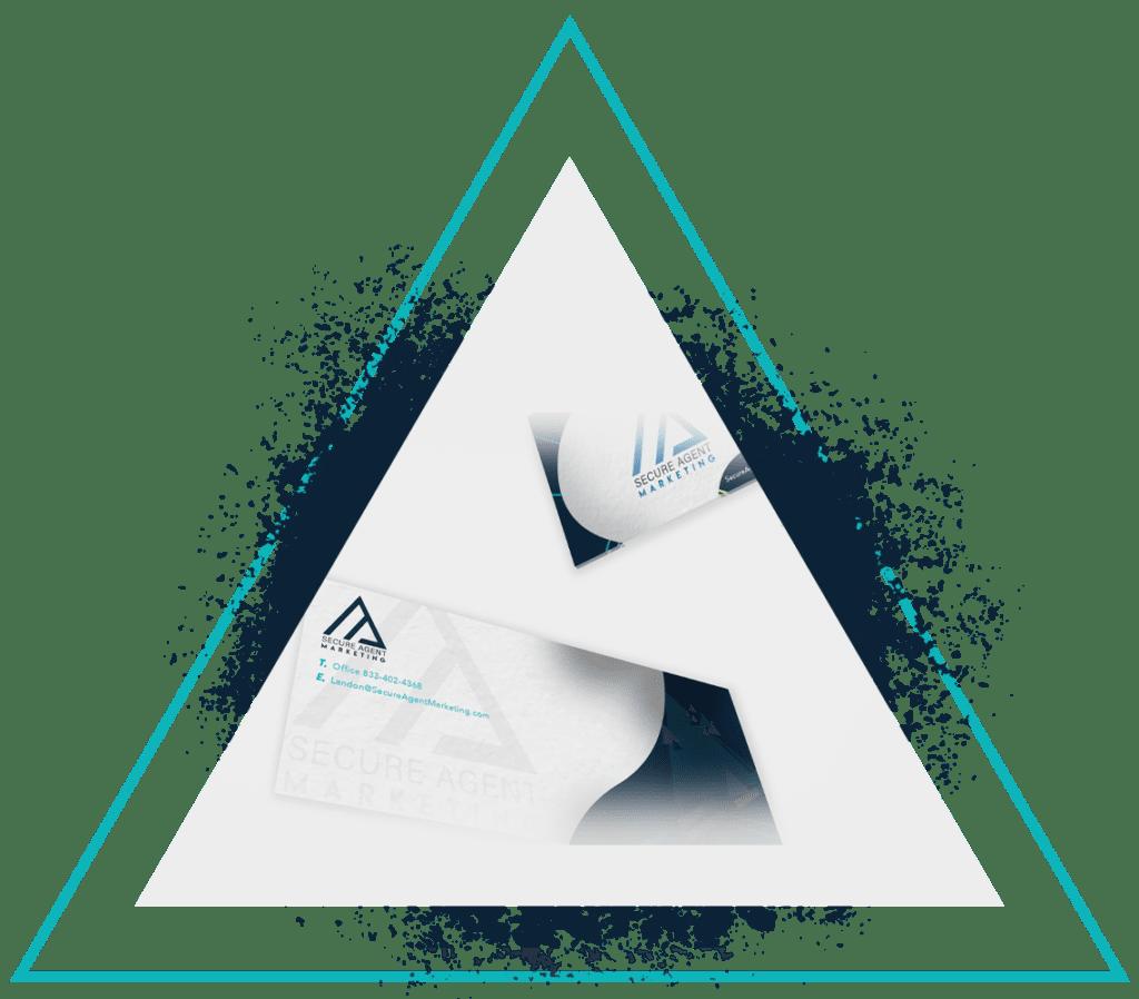 Brand Development Top Triangle Graphic