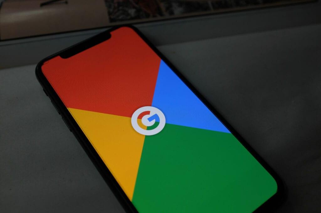 google on cellphone